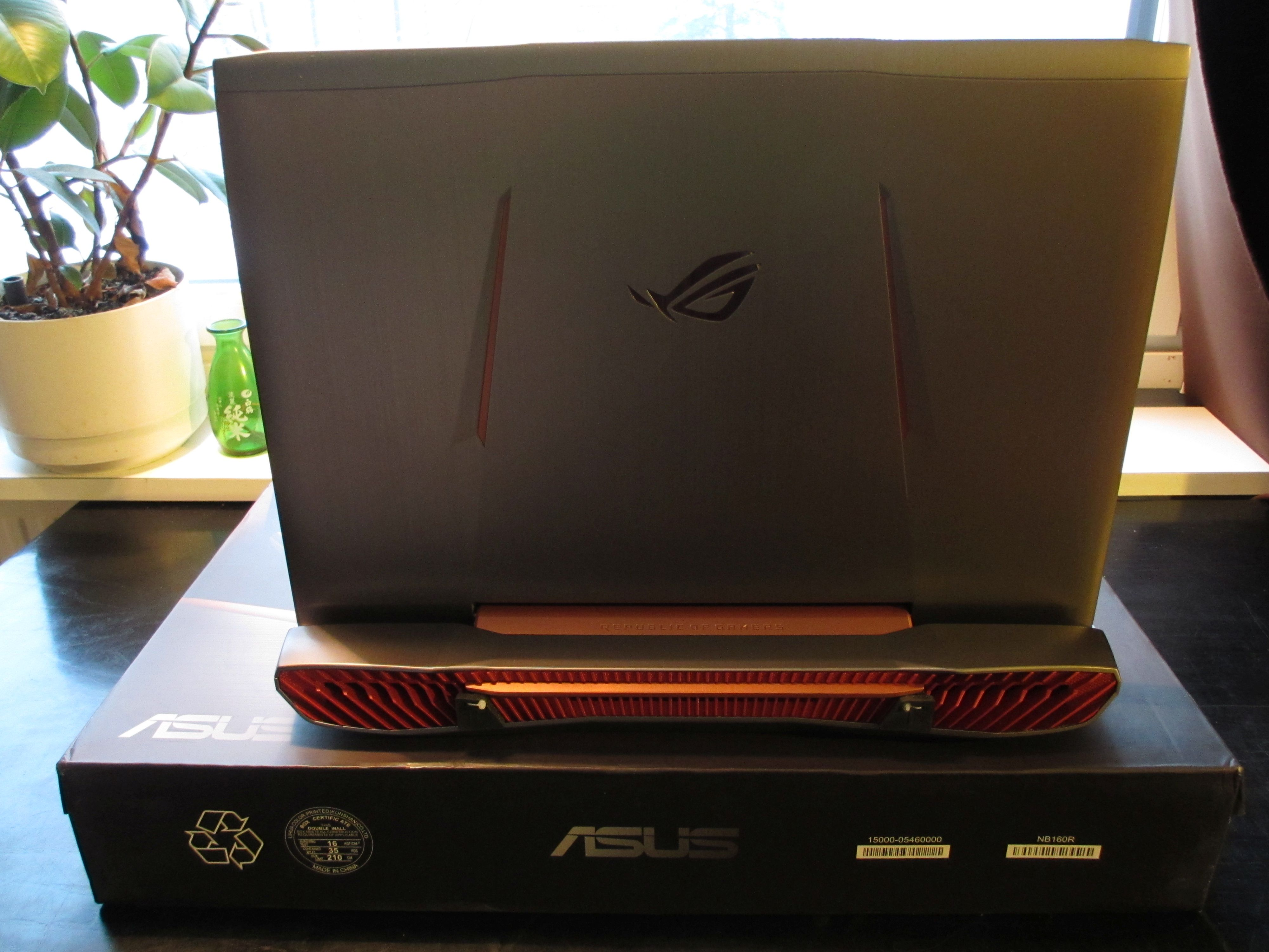how to open mic on asus rog